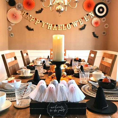 Happy Halloween Table Décor Ideas