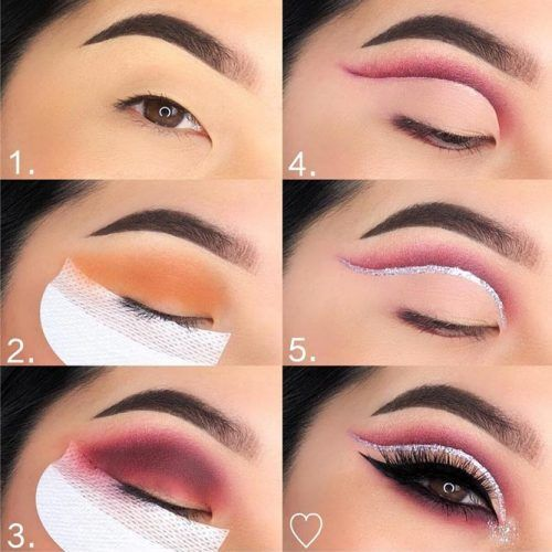 Double Cut Crease Eye Makeup Tutorial #cutcrease #eyeliner