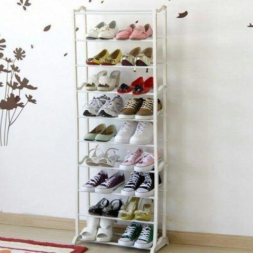 White Shoes Rack #whiteshoesrack
