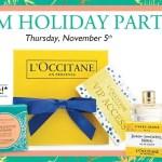 L'OCCITANE Holiday Event Alert!
