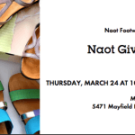 Naot Gives Back Event