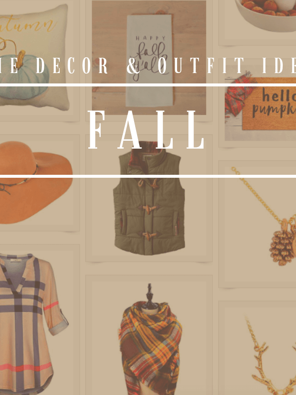 Fall'n for Autumn: Chic Fall Finds
