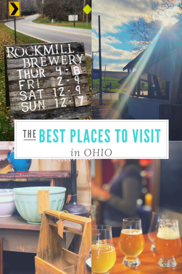 Best Places to Visit in Ohio... and Visiting this Charming Ohio Location is a Bucket List Must!