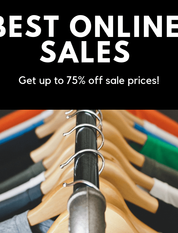 Best Online Sales NOT to Miss Out On (Start Shopping ASAP)
