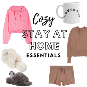 10 Cozy Stay at Home Essentials (to shop online!)