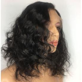 Lace wig bouclée