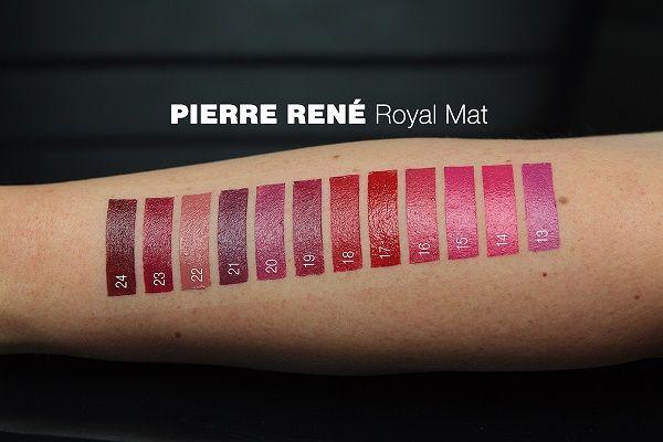 Pierre Rene Royal Mat Lipstick 13