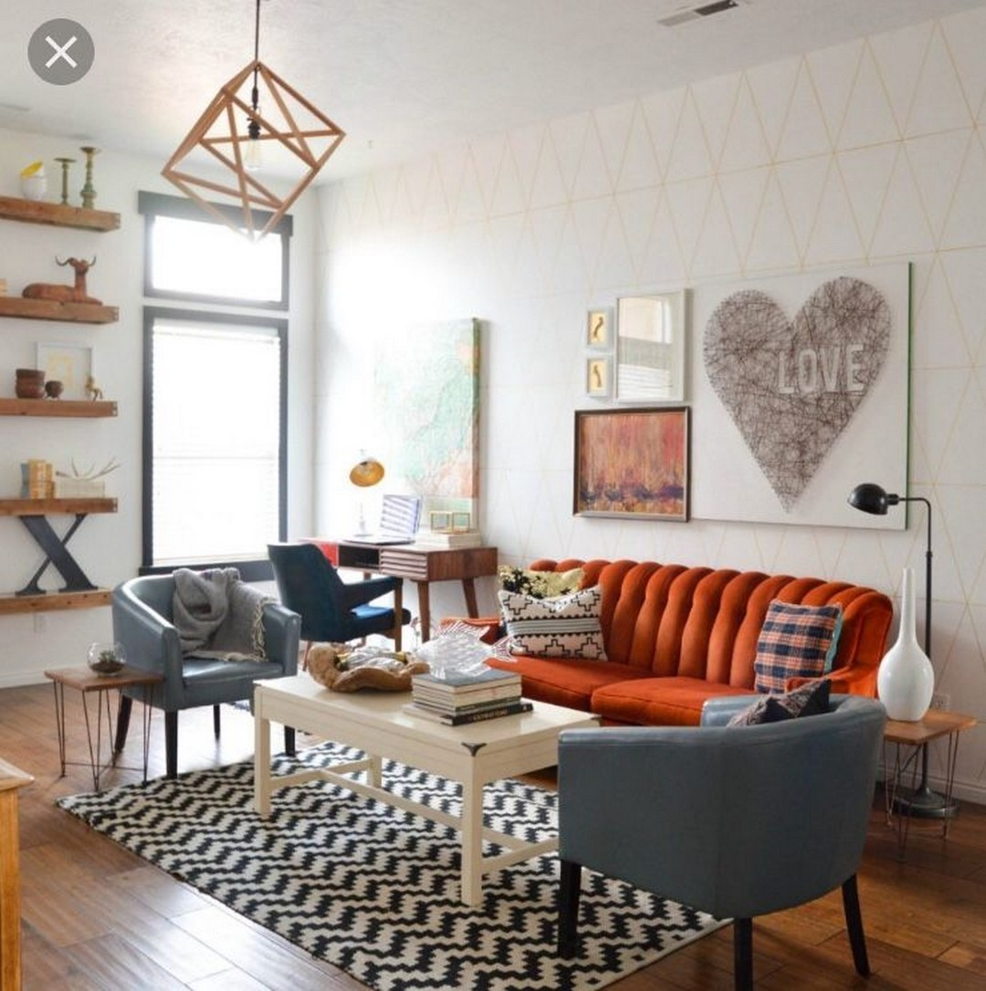 30+ CLEVER WAYS TO DECORATE YOUR LIVING ROOM WITH HIPSTER ... on How To Decorate Your Room  id=93986