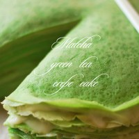 Matcha Green Tea Crepe Cake