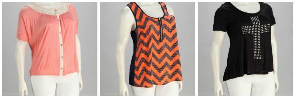 Zulily Plus Size blouses2