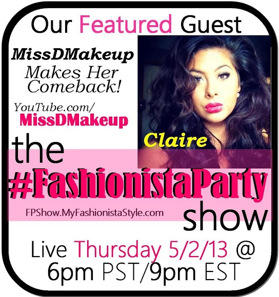 I'm the newest cast member of the #FashionistaParty Show!!