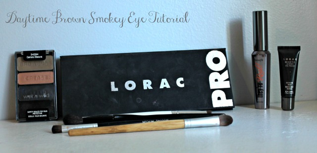 Daytime Brown Smokey eye tutorial