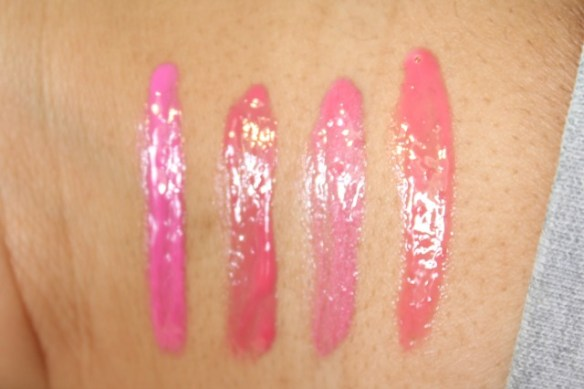 Maybelline Color Elixir  pink swatches