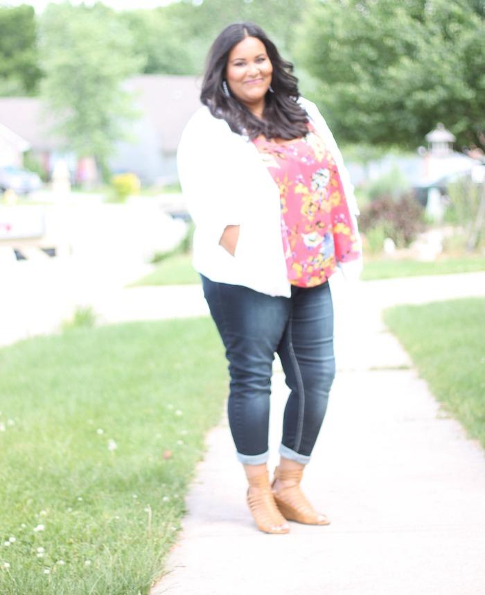 Plus Size mom blogger