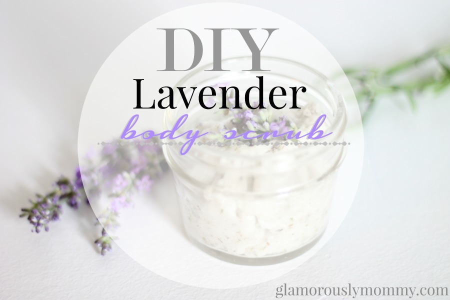 How to make DIY Lavender Body Scrub