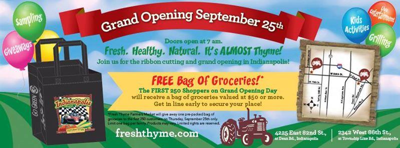 Fresh Thyme Market Indianapolis