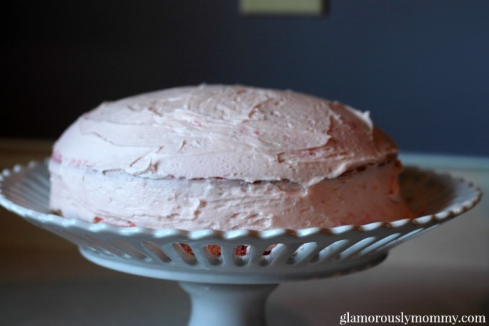 How to dirty ice a cake