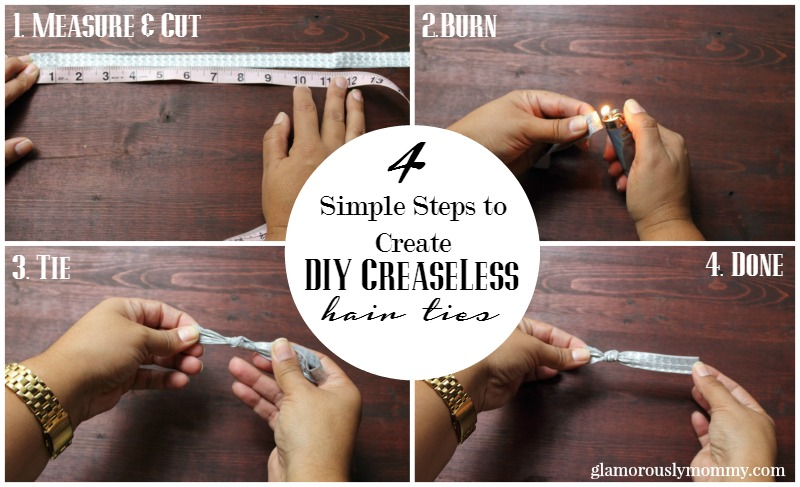 4 Simple step to create DIY Creaseless Hari ties