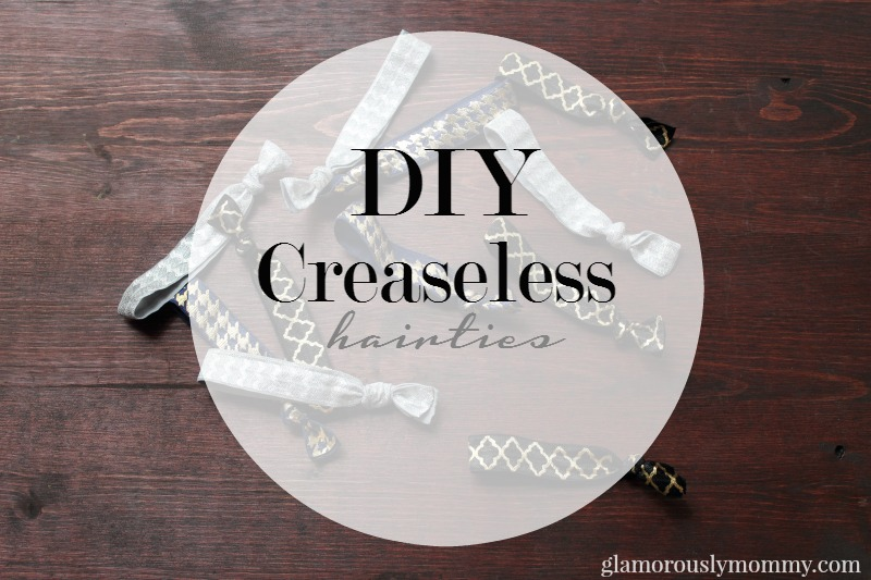 DIY Creaseless Hair Tie