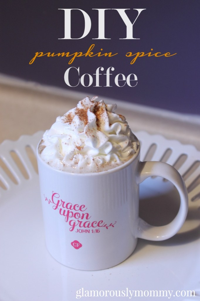 DIY Pumpkin Spice Coffee