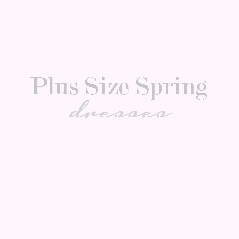 Inside the Dressing Room: Plus Size Spring Dresses