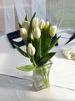 Wedding Tulips and baseballs