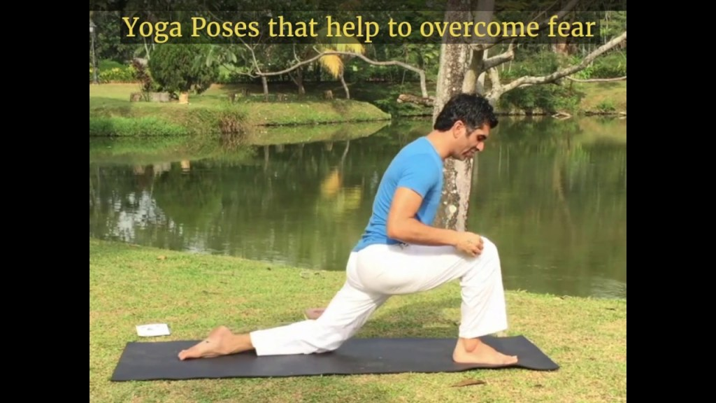 Conquer fear with Yoga