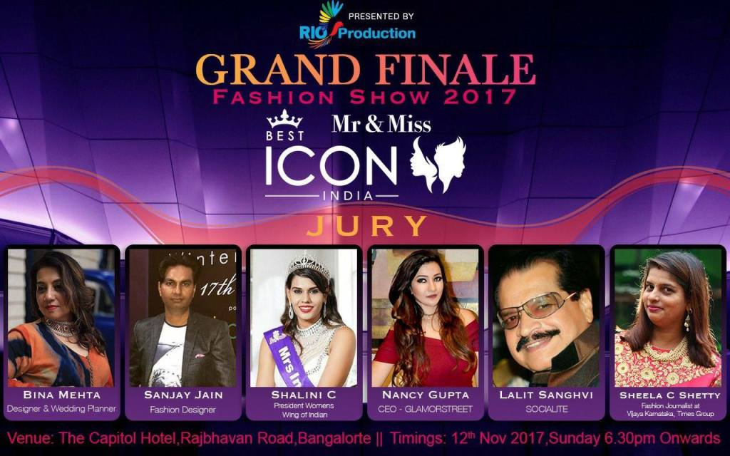 THE BEST ICON INDIA SOUTH INDIAN GRAND FINALE (2017)