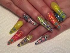 Coffin nail designs