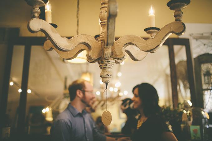 antique shop engagement | Ashley Hamilton Photography