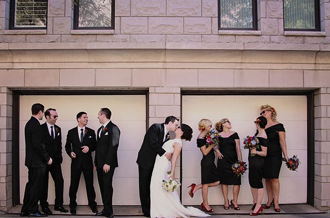 fun and colorful Chicago wedding | markit photography