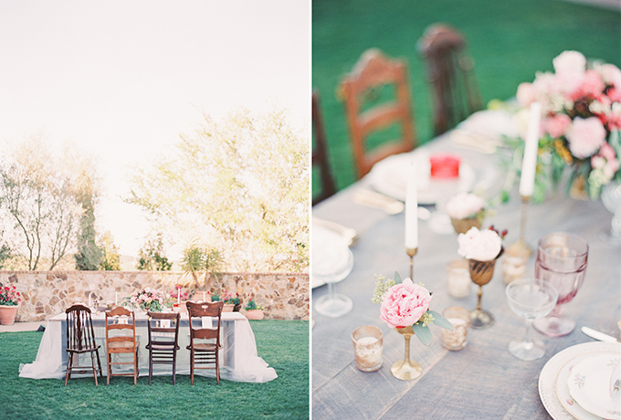 romantic pink wedding inspiration | Michelle March Photography | Glamour & Grace