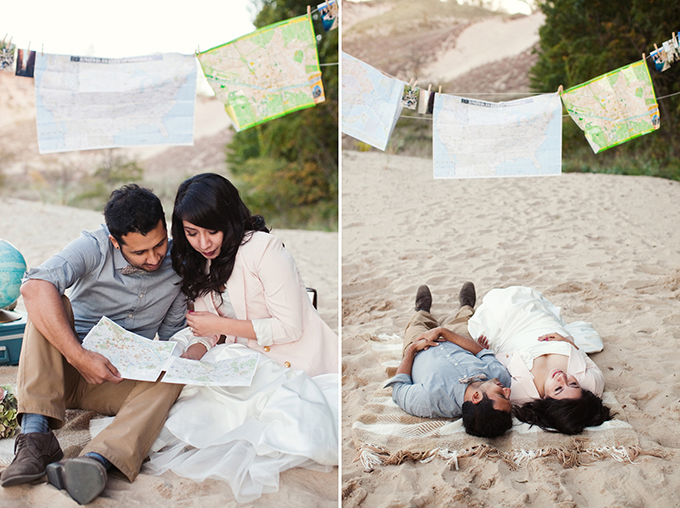 beach travel anniversary session | Ashley Biess Photography