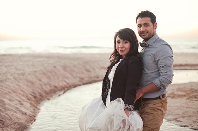 beach travel anniversary session | Ashley Biess Photography