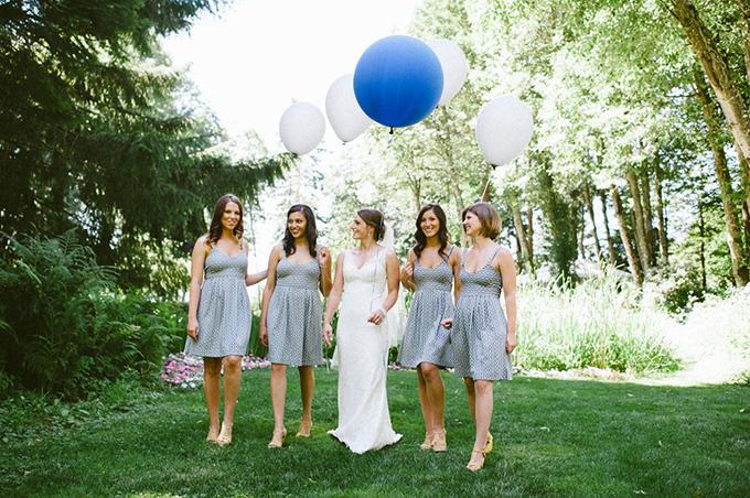 blue and yellow DIY wedding | Christa-Taylor
