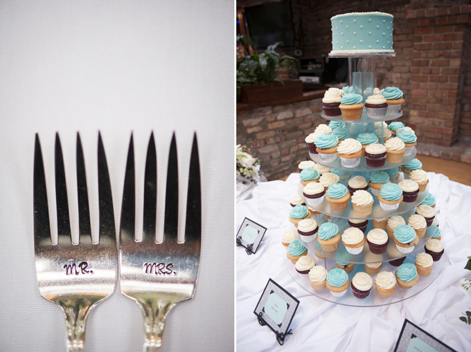 shabby chic turquoise wedding | Aislinn Kate Photography
