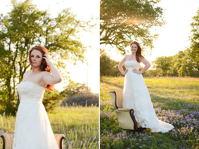 Texas vintage bridal session | Eureka Photography