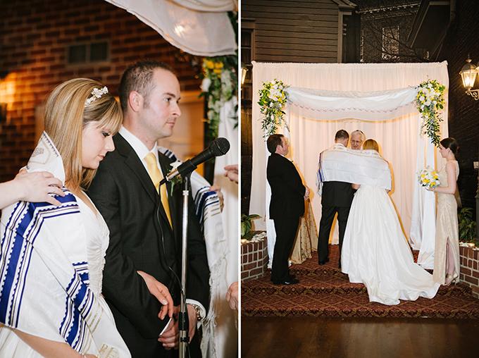 elegant handmade gold wedding | Natalie Franke Photography