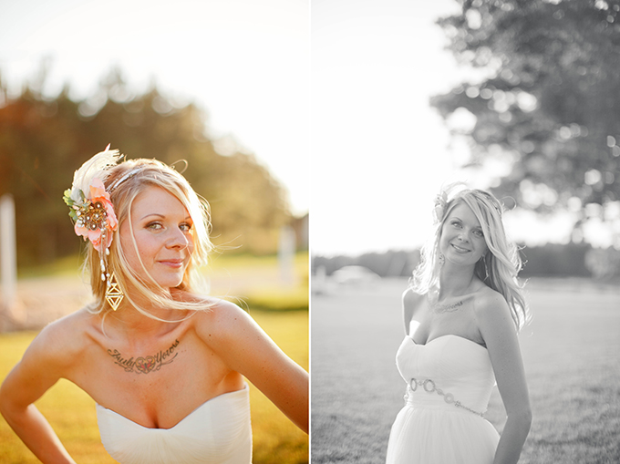 handmade bohemian wedding | V.A. Photography