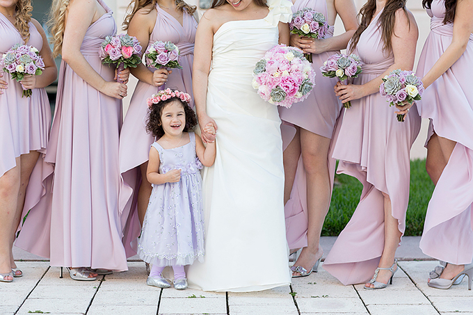 blush bridesmaids | Captured Photography by Jenny
