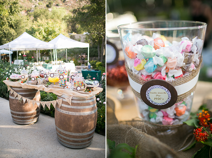 vintage candy buffet | Driver Photo