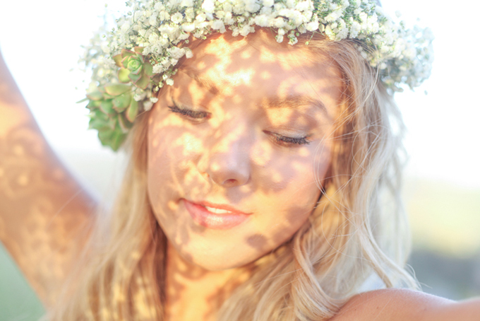bohemian bride | Blue Lace Photography