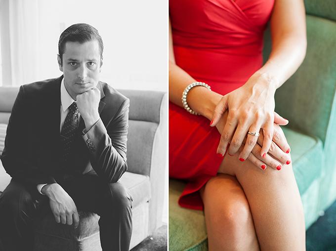 Mad Men styled engagement | White Rabbit Studios