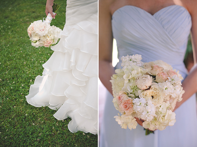white bouquets | Bit of Ivory Photography