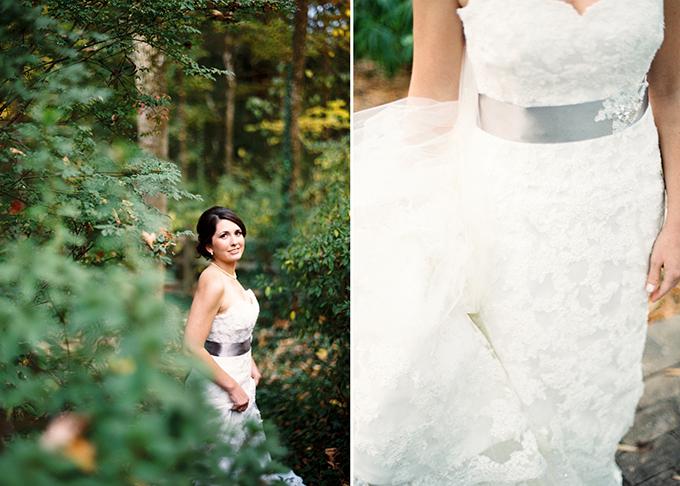 romantic film bridal session | Josh Deaton Photography