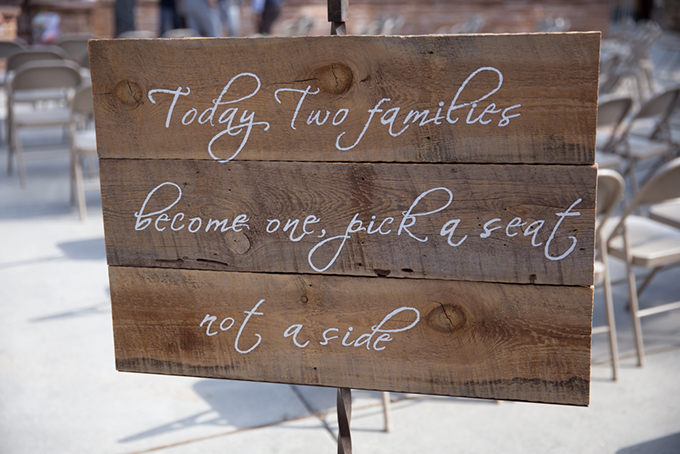 ceremony signage | Jasmine Nicole Photography