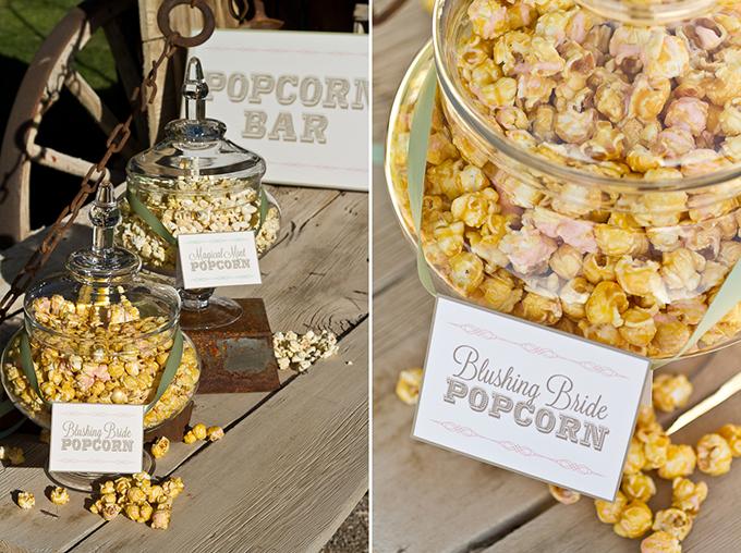 popcorn bar | Cardin Creative Photography