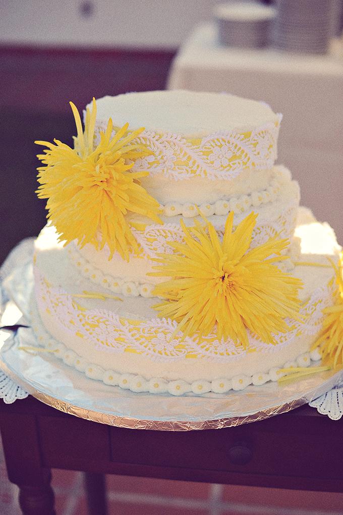 yellow cake   ArianaB Photography