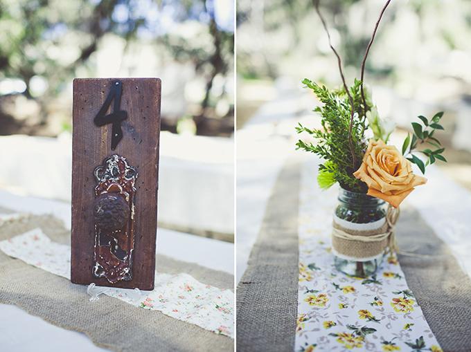 door knob table numbers | Sarah Kathleen