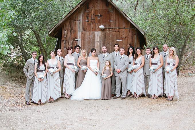 rustic peach wedding | Faithfully Focused Photography